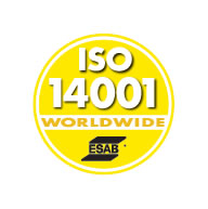 ESAB Receives ISO 14001 Certification